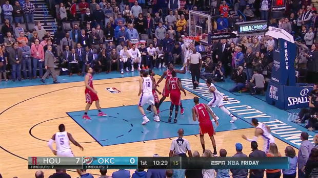 WSC: Russell Westbrook 27 points vs the Rockets