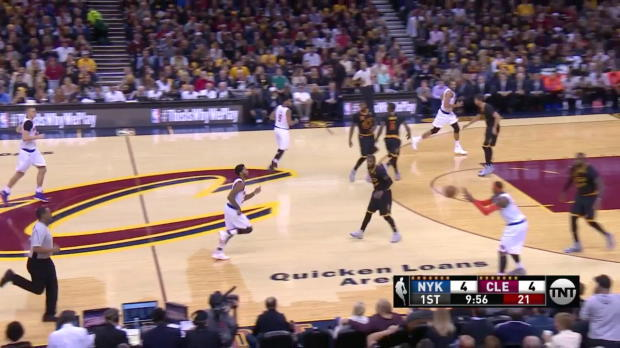 WSC: LeBron James posts 19 points, 14 assists & 11 rebounds vs. the Knicks