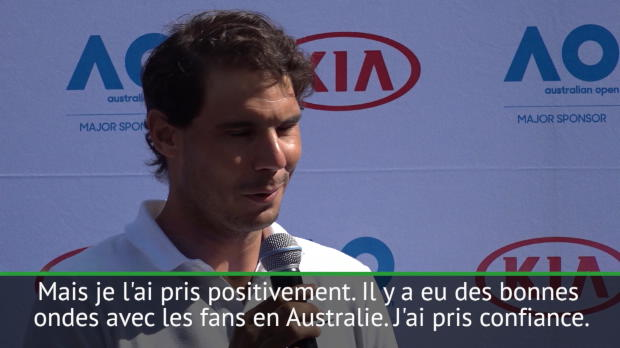 : Open d'Australie - Nadal - 'Melbourne avait lancé ma saison 2017'
