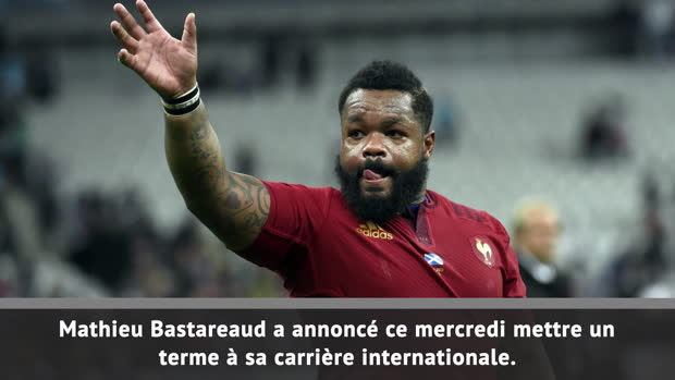 Rugby : XV de France - Bastareaud annonce sa retraite internationale