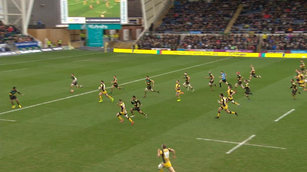 Aviva Premiership : Aviva Premiership - Match Highlights - Northampton Saints v Worcester Warriors