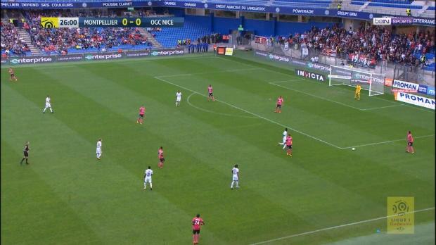 Montpellier gewinnt mit Traumtor gegen Nizza