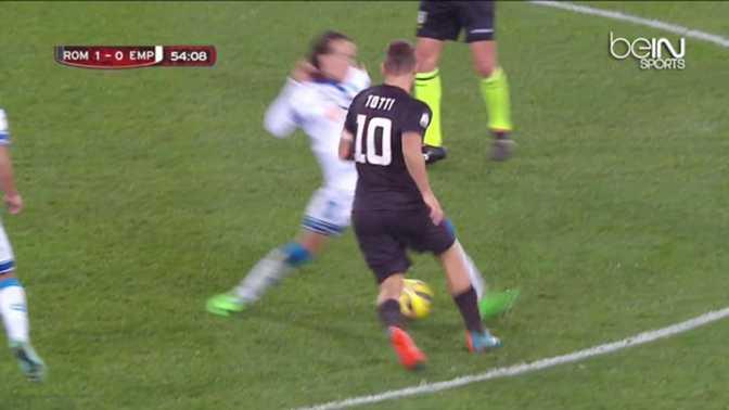 AS Roma : Totti régale