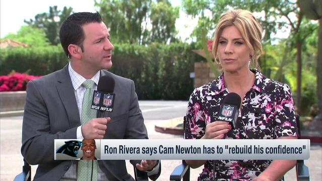 Rapoport: Panthers coach Ron Rivera showed great leadership by addressing Cam Newton's confidence