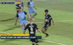 Sydney FC booked a spot in the FFA Cup semi-finals with an easy 3-0 win over Blacktown City.
