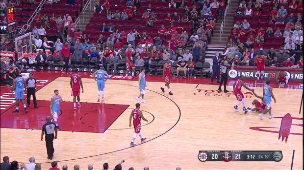 WSC: James Harden 24 points vs the Clippers