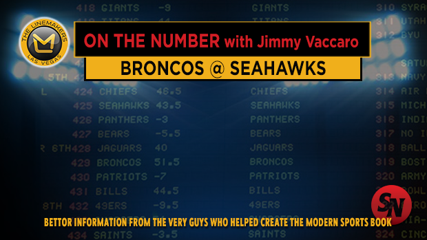 Jimmy V on Broncos @ Seahawks