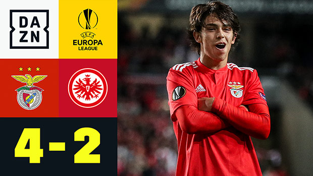 UEFA Europa League: Benfica - Eintracht Frankfurt | DAZN Highlights
