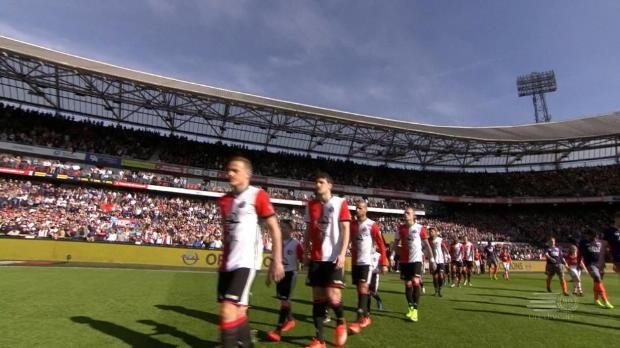 Jörgensen-Gala bei Feyenoords Schützenfest
