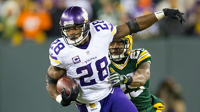 Potential landing spots for Adrian Peterson in 2017