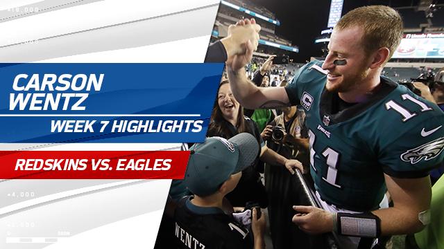 Carson Wentz highlights | Week 7