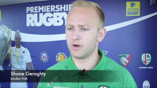 Aviva Premiership - Singha Premiership Rugby 7s preview - London Irish - Shane Geraghty