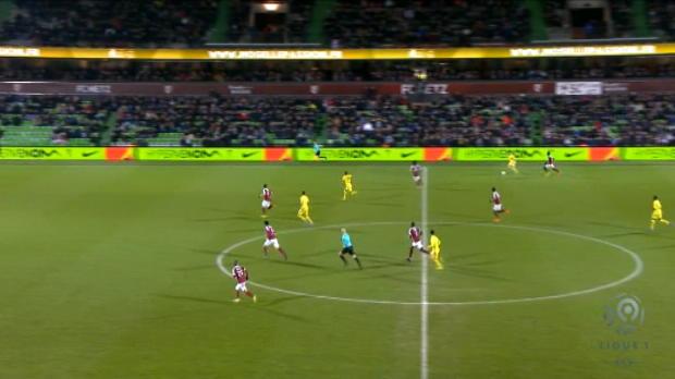 لقطة: كرة قدم: هجمة منسّقة تفضي إلى هدف أنيق لفائدة نانت