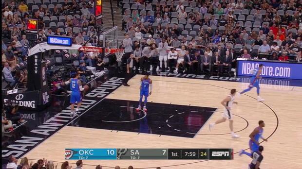 WSC: LaMarcus Aldridge (26 points) Game Highlights vs. Oklahoma City Thunder