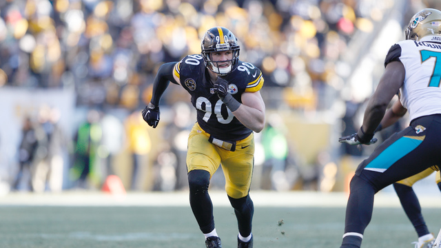Pittsburgh Steelers linebacker T.J. Watt's top 10 plays | 2017 season
