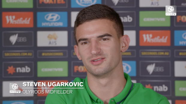 VIDEO: Steven Ugarković in Olyroos camp