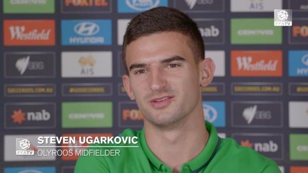 VIDEO: Steven Ugarković in Olyroos camp