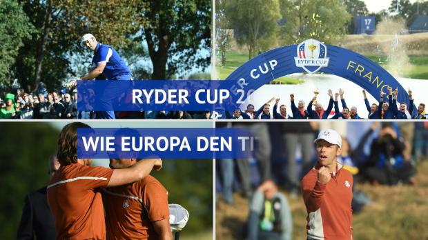 Ryder Cup: Wie Team Europa den Titel holte