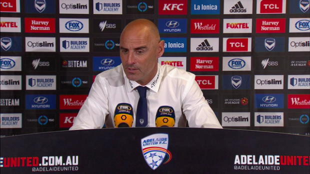 Melbourne Victory Rd14 press conference