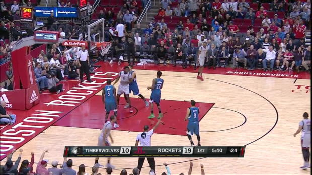 WSC: Houston Rockets with 22 3-pointers against the Timberwolves
