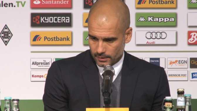 """Guardiola : """"Très fier de mon équipe"""""""