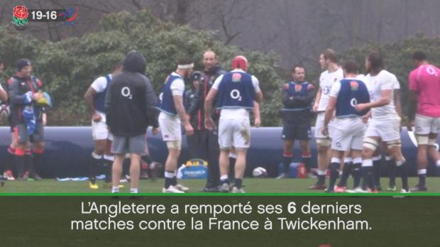 XV de France - Angleterre-France en chiffres