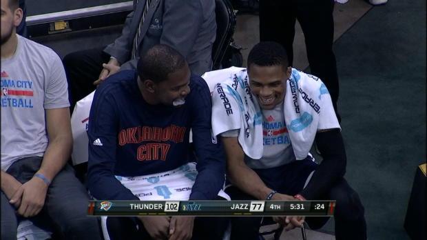 Basket : NBA - Kévin Durant cajole Utah pour son retour (89-111)