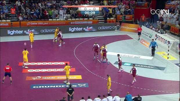 Hand : Qatar 25-28 Espagne