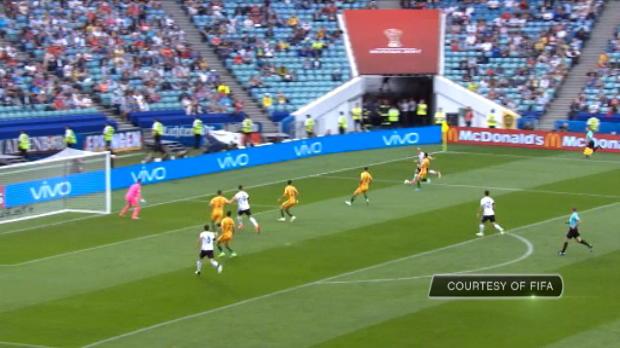 كرة قدم: كأس القارات: أستراليا 2-3 ألمانيا