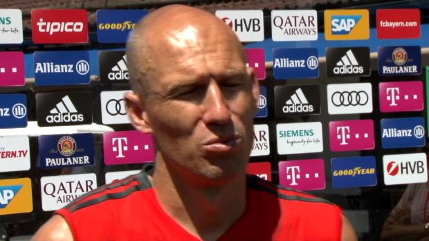 """Robben: """"Dürfen nicht eigener Gegner werden"""""""