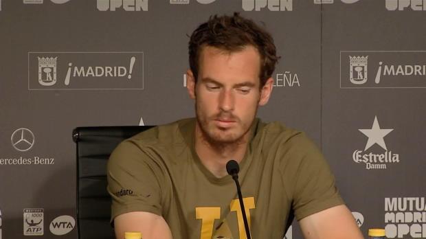 Madrid: Murrays Vorfreude auf French Open