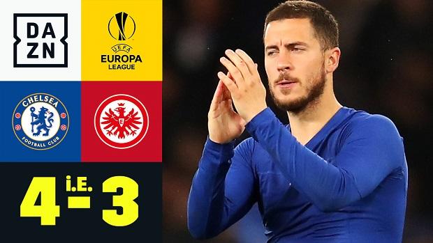 UEFA Europa League: Chelsea - Eintracht Frankfurt | DAZN Highlights