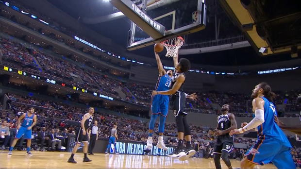 Dunk of the Night: Andre Roberson