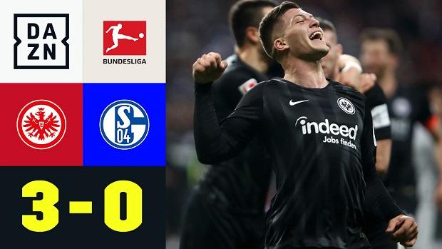 Bundesliga: Eintracht Frankfurt - FC Schalke 04   DAZN Highlights