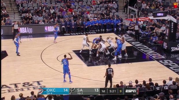 WSC: Carmelo Anthony (20 points) Game Highlights vs. San Antonio Spurs