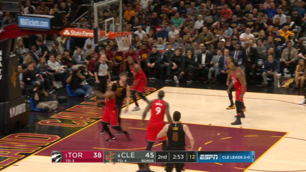 Assist Of The Night: LeBron James