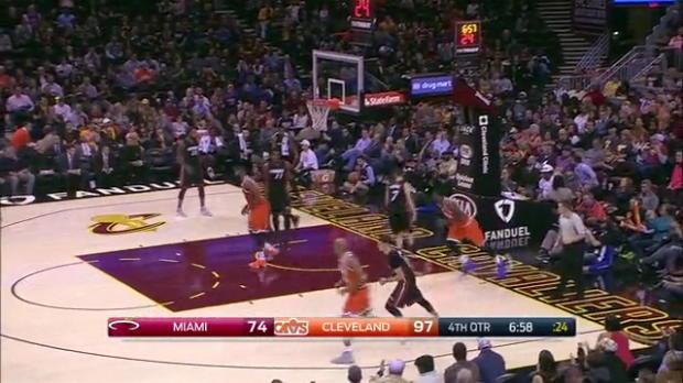 WSC: LeBron layup passing Elvin Hayes