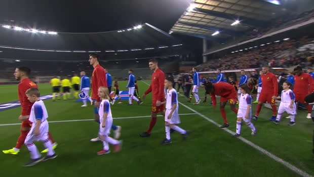 UEFA Nations League: Belgien - Island | DAZN Highlights