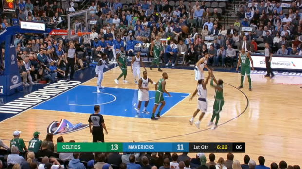 GAME RECAP: Celtics 110, Mavericks 102