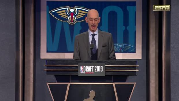 2019 NBA Draft Round 1, Pick 1: Zion Williamson