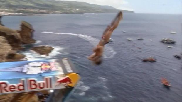Klippenspringen: Hunt auch auf Azoren vorne