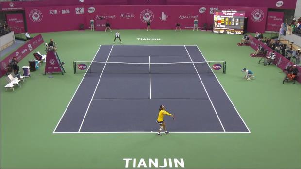Tianjin: Sharapova mit erstem Finale seit 2015