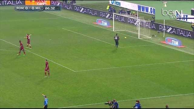 Serie A : Le geste exceptionnel de Menez