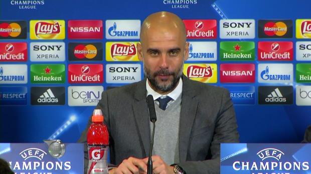 """Guardiola: """"Hätten ein Tor verdient gehabt"""""""