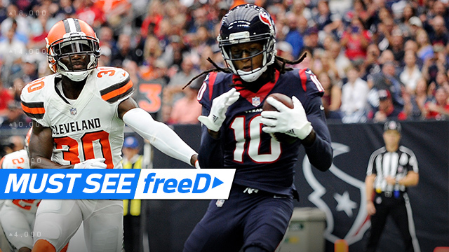 freeD: DeAndre Hopkins touchdown catch | Week 6