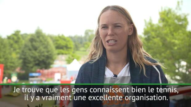 : Montréal - Wozniacki veut tourner la page Wimbledon