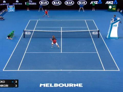 تنس: بطولة استراليا المفتوحة: نيشيكوري يتغلب على لاكو ليبلغ دور الـ16