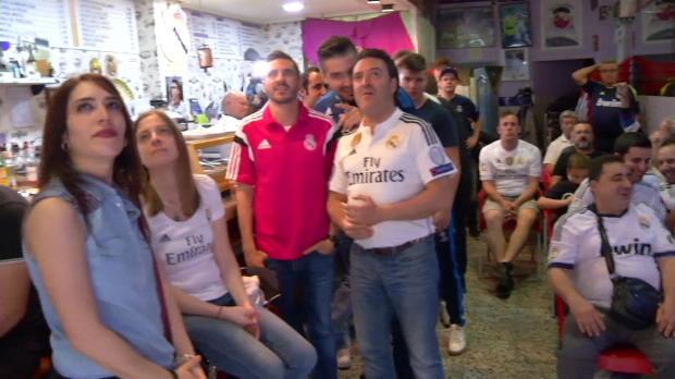 So erlebten Real- und Barca-Fans den Titelkampf