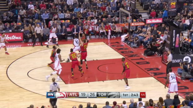 GAME RECAP: Raptors 128, Hawks 84