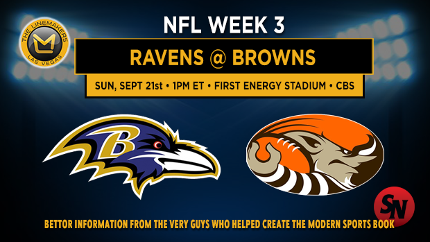 Baltimore Ravens @ Cleveland Browns
